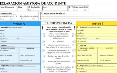 Parte Amistoso de Accidentes Auto